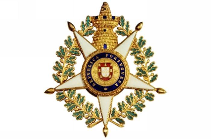 Mário Travassos: Comendador da Ordem Militar da Torre e Espada