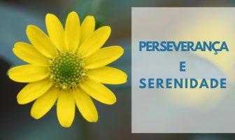 Perseverança e Serenidade