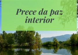 Prece da Paz Interior
